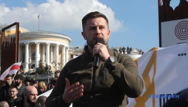 Розведення військ — це катастрофа: ветерани російсько-української війни закликали українців на марш…