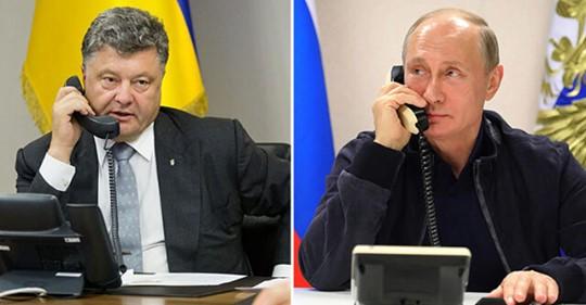 «Петро Олексійович, чим я можу тобі допомогти?»: Стало відомо, як Путін розмовляв з Порошенком