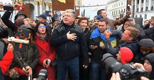 """""""А хто буде розхитувати човен?"""" Порошенко в День захисника України """"прохолоджується"""" в Лондоні!"""