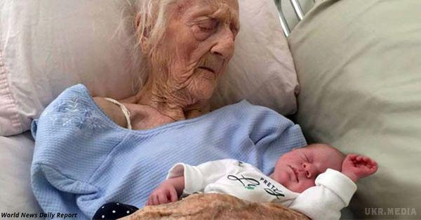 Знайомтеся, це найстаріша в світі мама…. їй 101, і вона народила дитину!