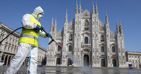 Пандемія коронавірусу. В Італії уперше пішла на спад кількість критичних пацієнтів