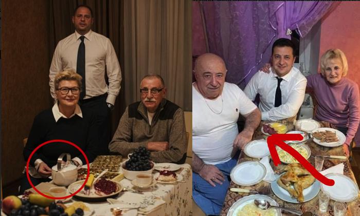 Українець: Подивіться уважно на ці два фото. От усе у цих двох синхронно, одночасно захворіли на ковід, разом одужали, ще й фотки публікують схожі.